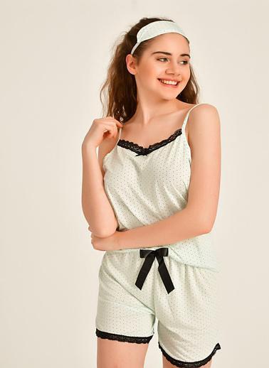 Pemilo Pijama Takım Yeşil
